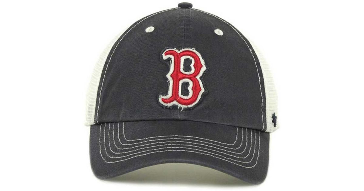 3a56a9b287683 ... uk lyst 47 brand boston red sox blue mountain franchise cap in blue for  men 70ef4