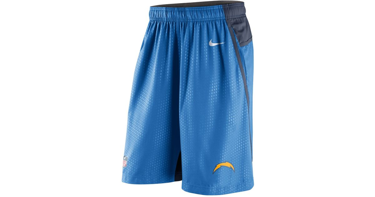 44a1c44f Nike - Blue Men's San Diego Chargers Dri-fit Fly Xl 3.0 Shorts for Men -  Lyst