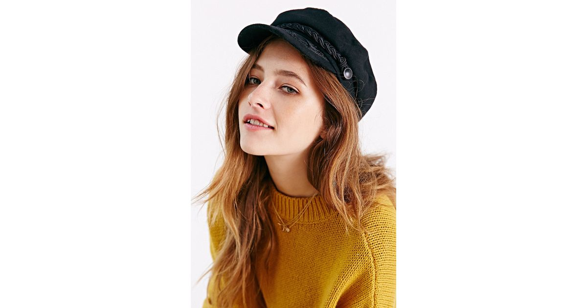 740921cee16 Lyst - Urban Outfitters Greek Fisherman Hat in Black