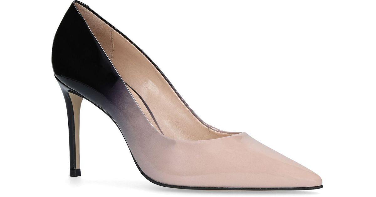 93f1006bdde1 Carvela Kurt Geiger Beige  alison  Mid Heel Court Shoes in Brown - Lyst