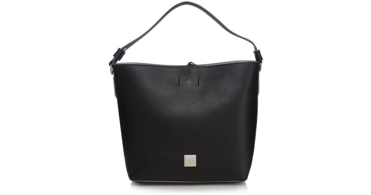 6bfeec8f4b Faith Black Studded Hobo Bag in Black - Lyst