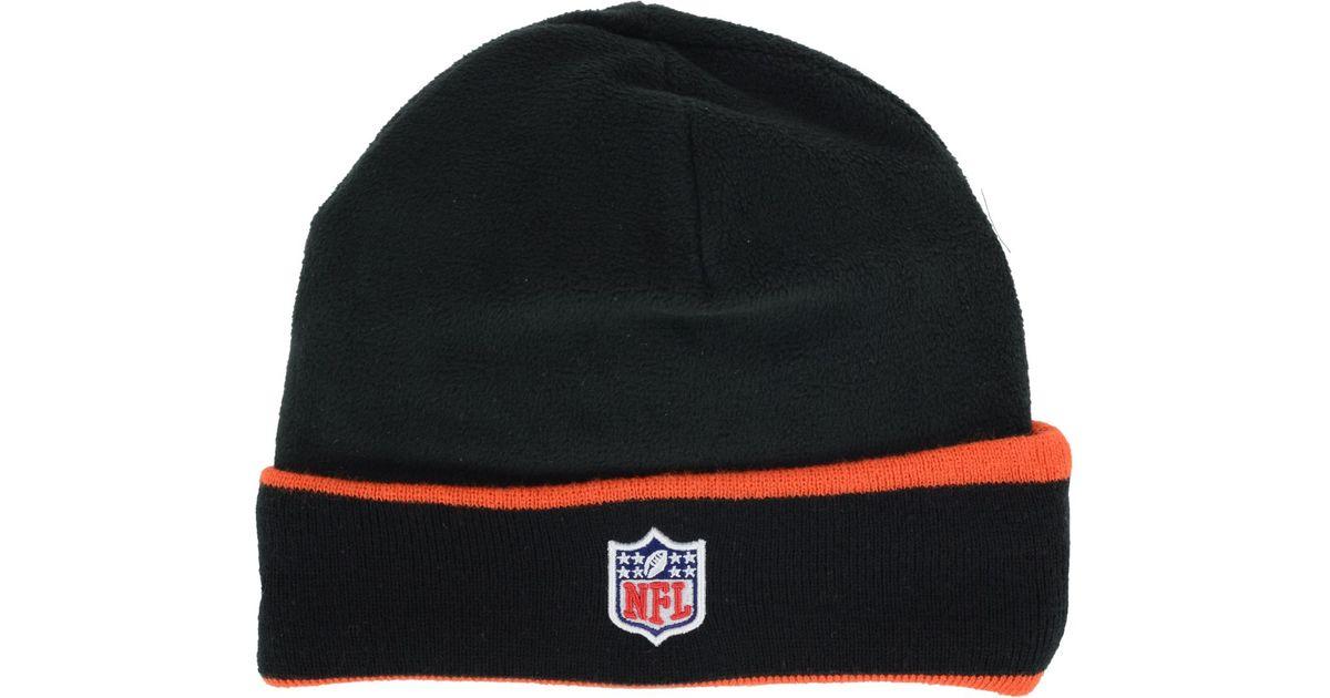 f7fae59b7a9 Lyst - Ktz Cincinnati Bengals Tech Knit Hat in Black for Men