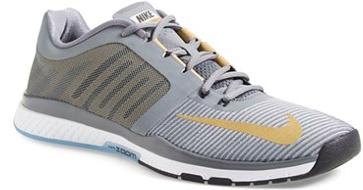 9e0953bd92c3 Lyst - Nike  zoom Speed Tr 2015  Training Shoe in Metallic for Men