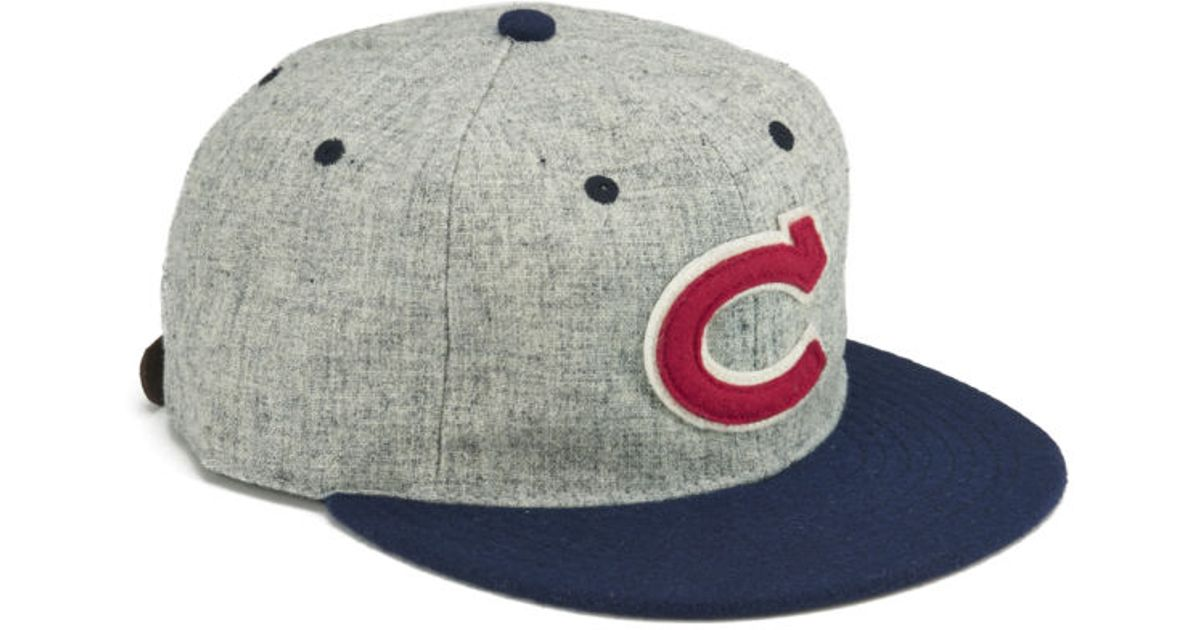 0c8ad3bf0ce Ebbets Field Flannels Men S Chunichi Dragons Strap Back Cap in Blue for Men  - Lyst