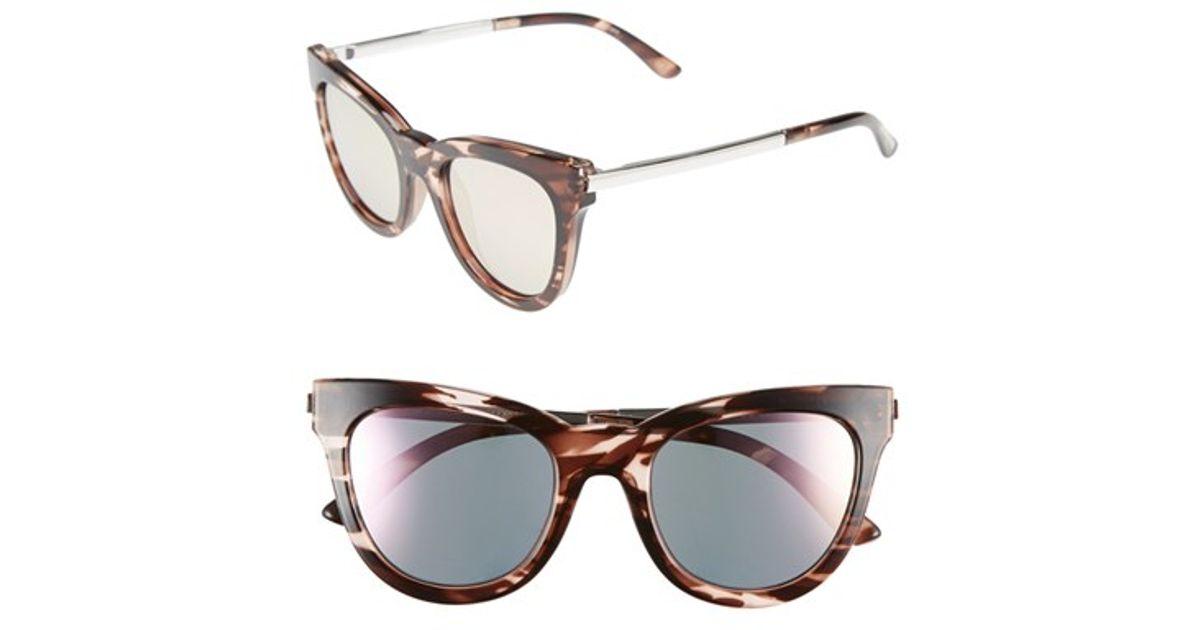 7298db9325 Le Specs Eye Slay Cat Eye Sunglasses In Pink