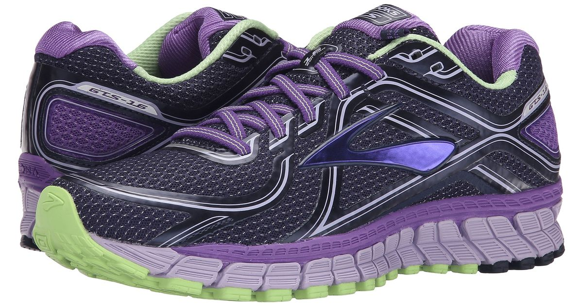 4c7cf4b5eab Lyst - Brooks Adrenaline Gts 16 in Purple