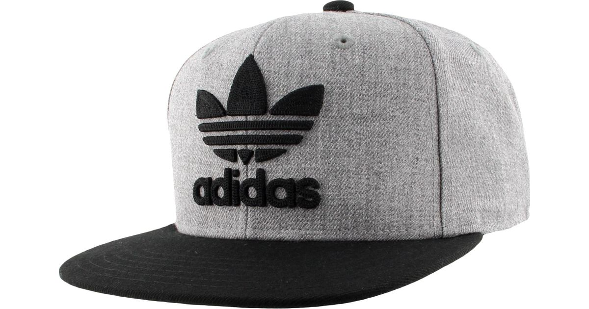 a7f55572 adidas Originals Trefoil Chain Snapback Hat in Gray for Men - Lyst