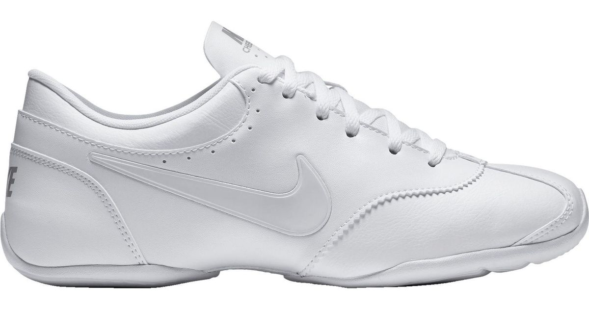 more photos e3b7e 280bc Nike Cheer Unite Cheerleading Shoes in White - Lyst