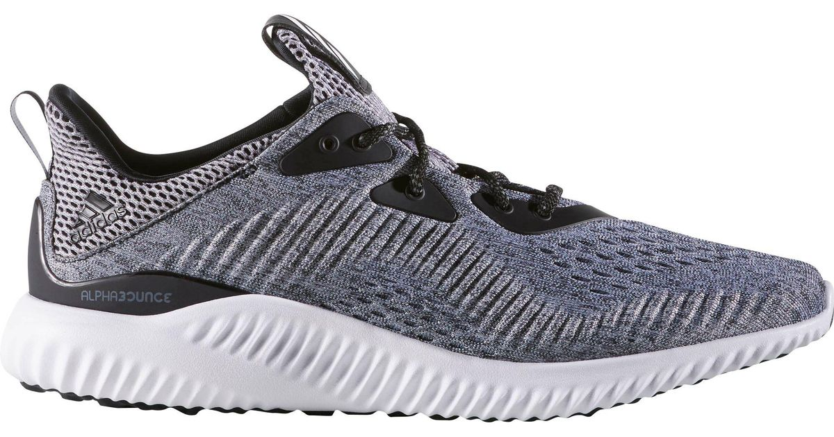 new product 8fbd9 0da20 Lyst - Adidas Alpha Bounce Em Running Shoes in Black for Men