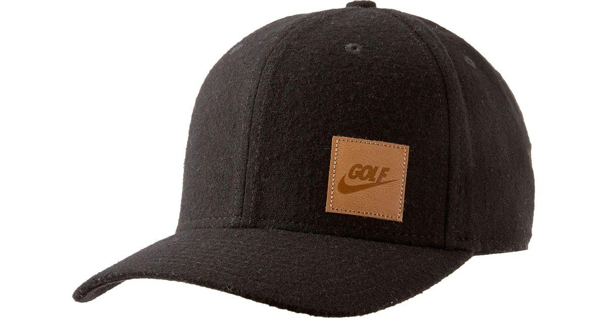 Lyst - Nike Classic99 Wool Golf Hat in Black for Men 8f15b144084