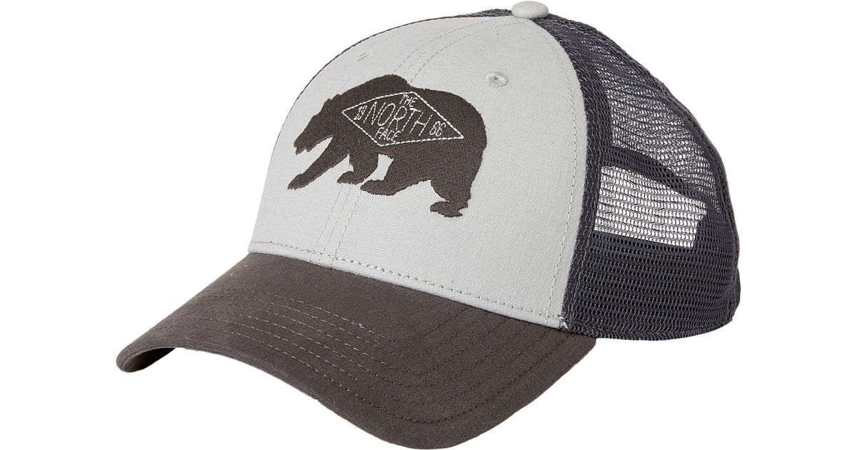 f4464c796b766a The North Face Patches Trucker Hat in Gray for Men - Lyst