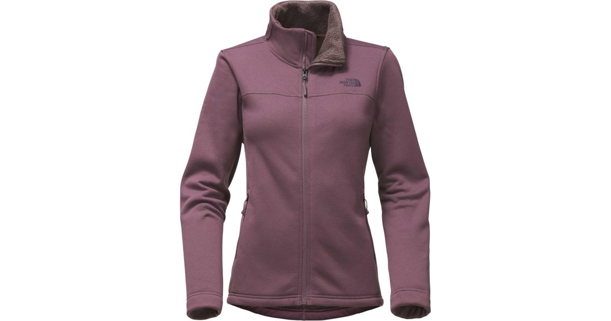 ebf59bec1725 Lyst - The North Face Timber Full Zip Fleece Jacket in Purple