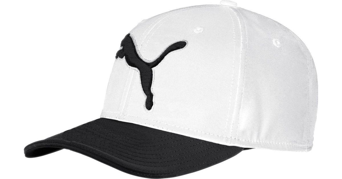 Lyst - PUMA  gotime Golf Hat in Black for Men d3e5661a5be