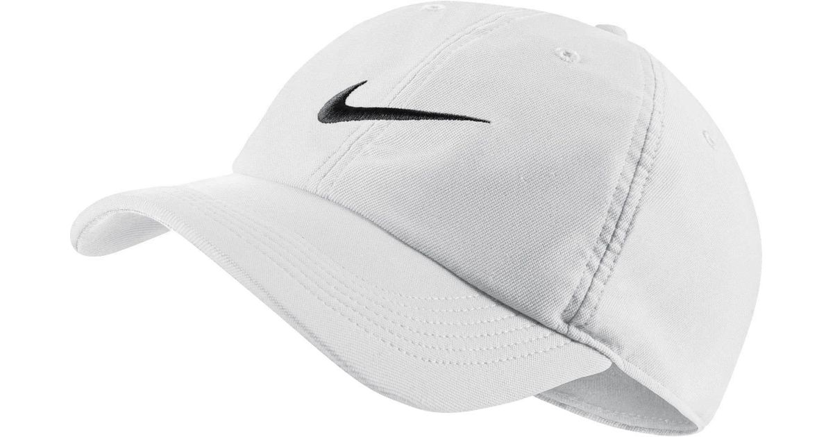 huge discount e5ab7 c36a2 Lyst - Nike Twill H86 Adjustable Hat in White for Men