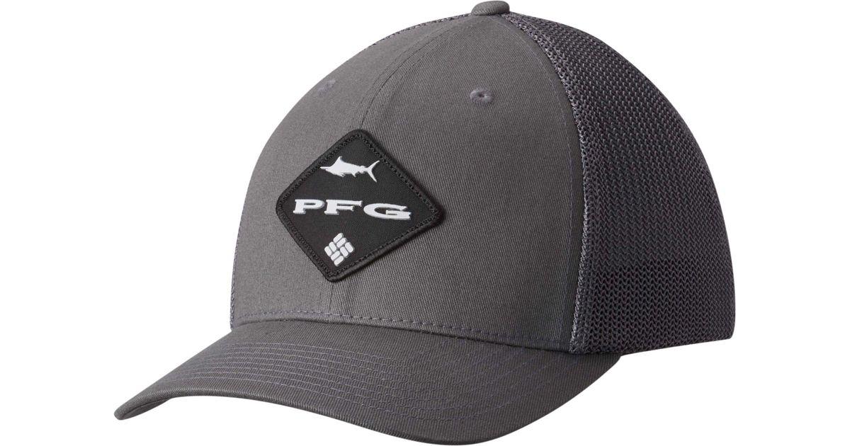 Lyst - Columbia Pfg Mesh Ball Cap in Gray for Men 91f4e59bfa8
