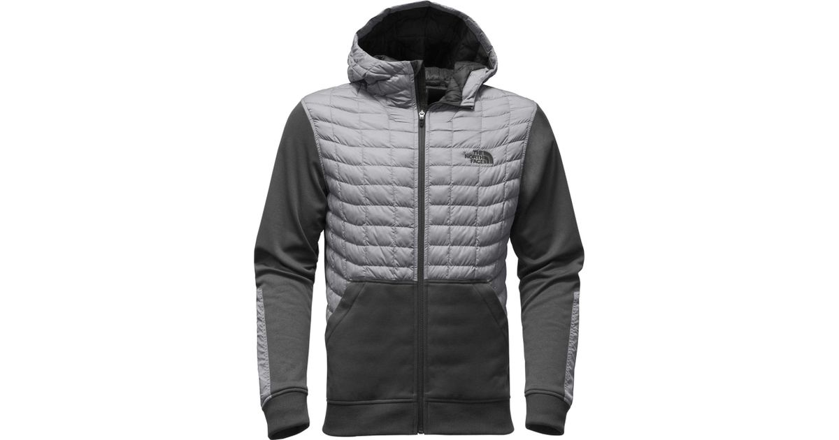 b3e48d2e16 ... reduced lyst the north face kilowatt thermoball insulated jacket in gray  for men a8e57 58342