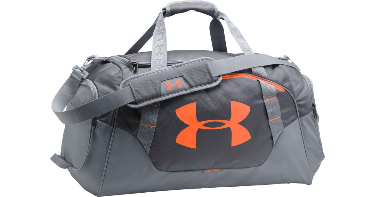 3371ef1d9 Under Armour Undeniable 3.0 Medium Duffle Bag in Gray for Men - Lyst