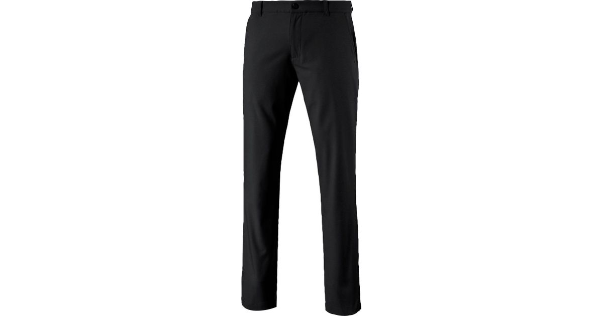 9819065a3961 Lyst - PUMA Stretch Pounce Golf Pants in Black for Men