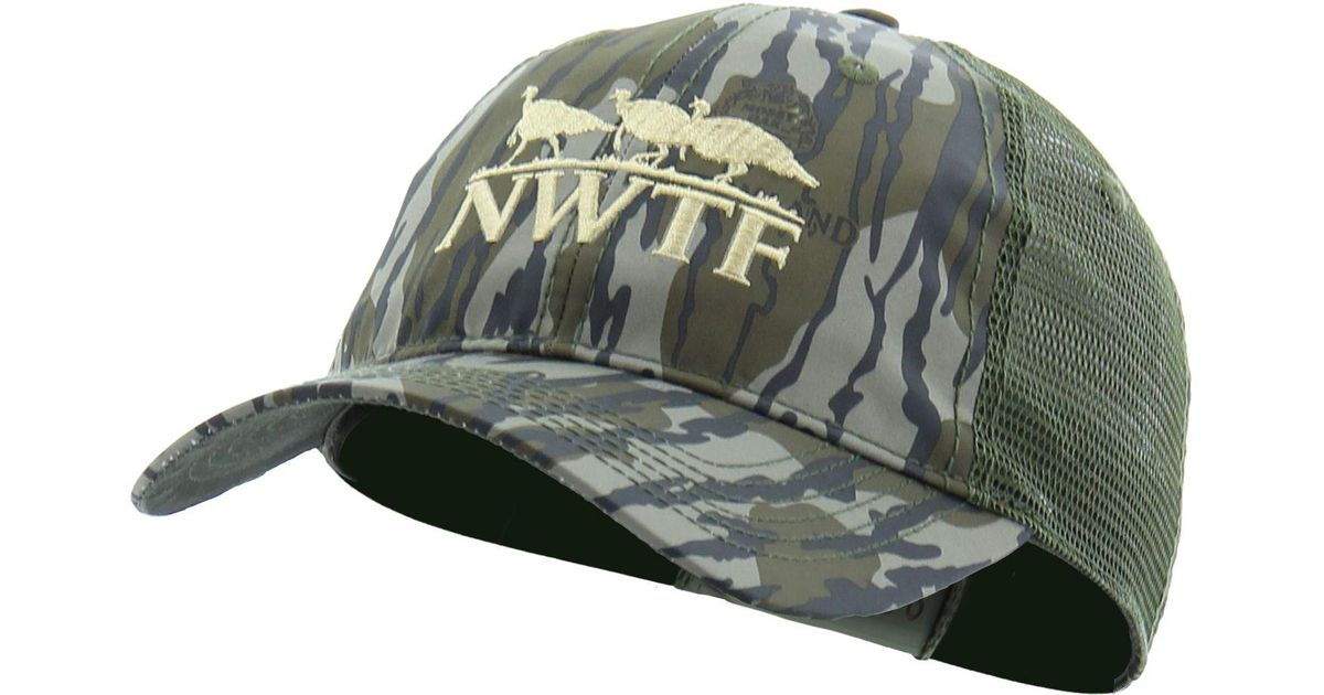 Lyst - Nomad Nwtf Camo Trucker Hat in Green for Men fdf7fdfcbd2