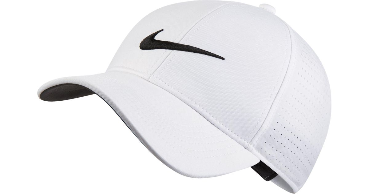 c9b4f4722ae ... Lyst - Nike Aerobill Legacy91 Perforated Golf Hat in White f biggest  discount a4c66 cf3a0 ...