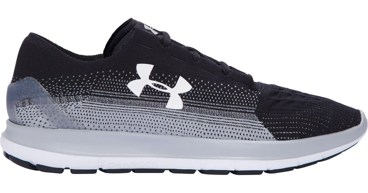 new style 5ab39 d0098 Under Armour Speedform Slingride Fade Running Shoes in Black for Men - Lyst