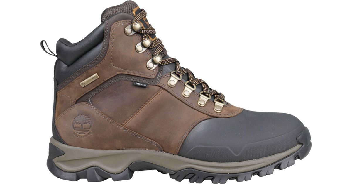 Lyst - Timberland Mt. Maddsen 6   200g Waterproof Hiking Boots in Brown for  Men c9699069d68d
