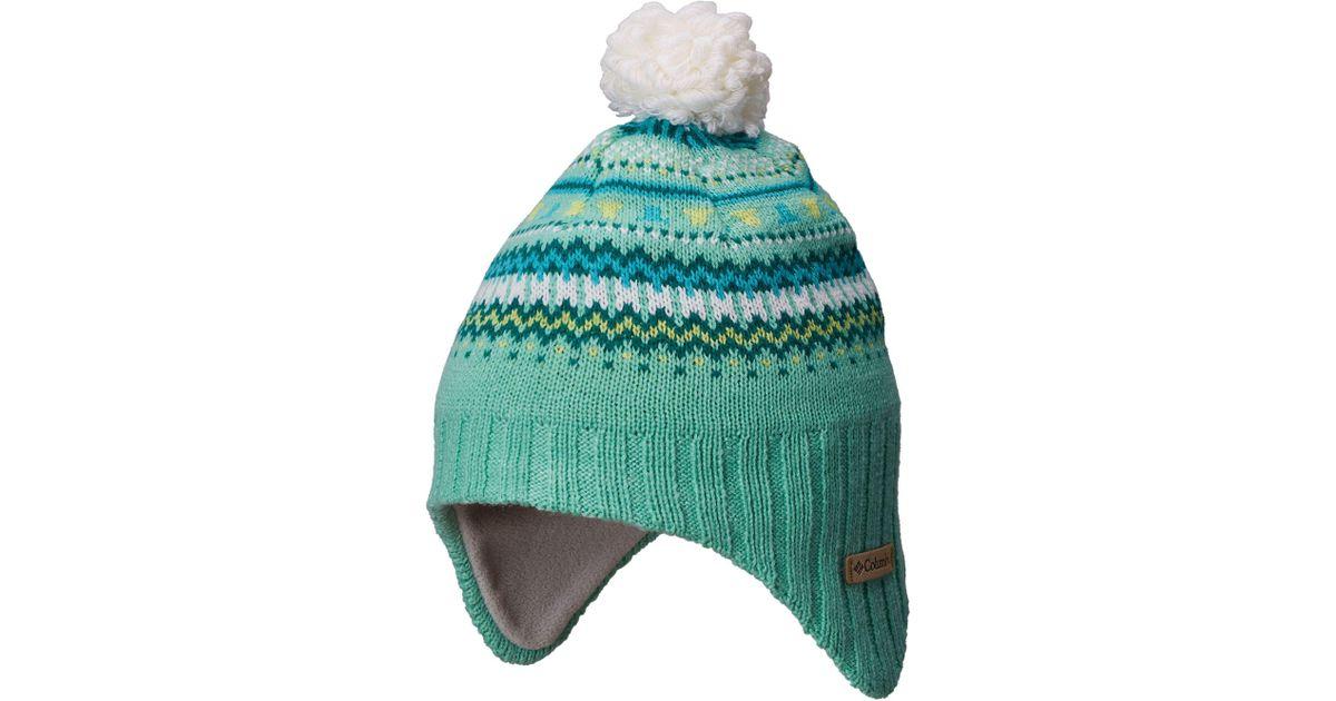 8025aa1fa Columbia - Green Youth Winter Worn Ii Peruvian Hat - Lyst