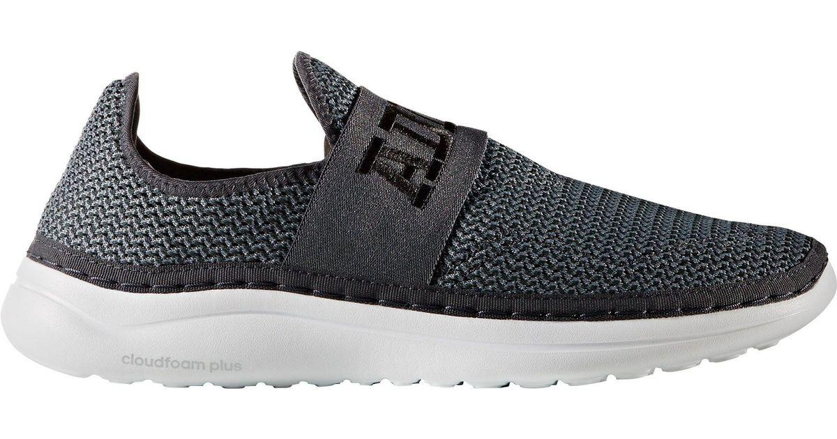 huge discount b1a4b 538fd adidas Cloudfoam Plus Zen Recovery Shoes in Black for Men - Lyst