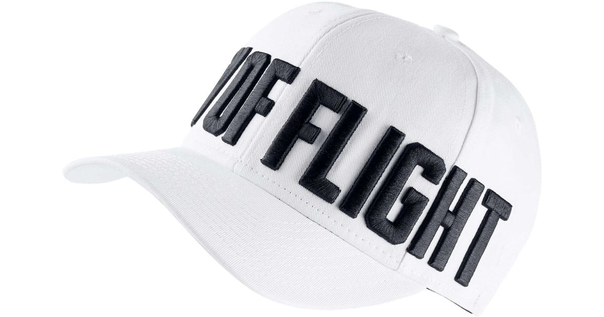 52cbfa56cc156 Nike Jumpman Classic99 City Of Flight Snap Back Hat in White for Men - Lyst
