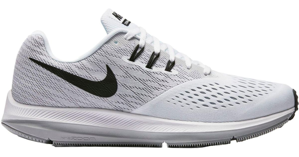 7dc11fcb8dda7 Lyst - Nike Air Zoom Winflo 4 Running Shoes in White for Men