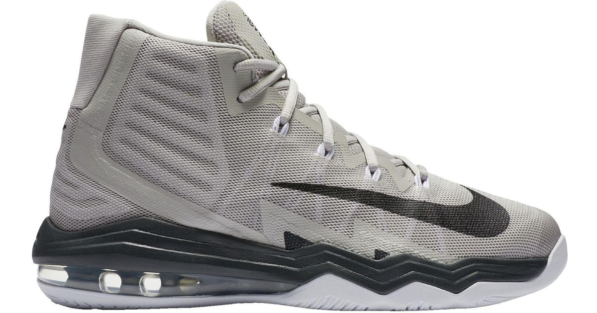 14f36d9991b4 Lyst - Nike Air Max Audacity 2016 Basketball Shoes in Gray for Men