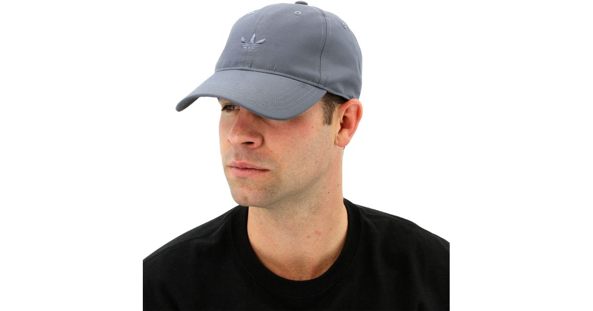 d6145c0ac1 adidas Originals Relaxed Modern Cap in Gray for Men - Lyst