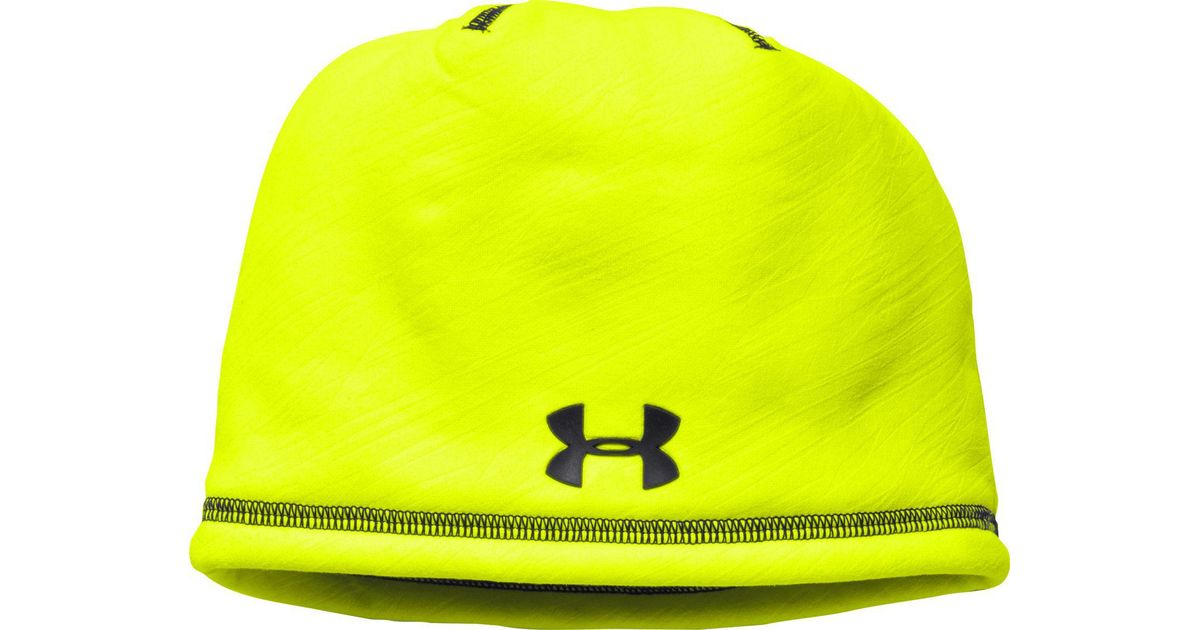 Lyst - Under Armour Oys  Elements Beanie 2.0 in Yellow for Men 617811f5fd0
