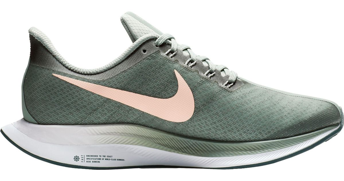 fa8a8c4fcdeb4 Lyst - Nike Zoom Pegasus 35 Turbo Running Shoes in Green