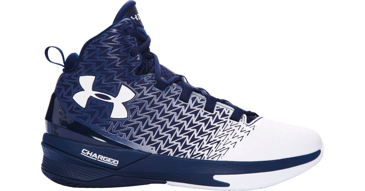 0d0a49157a38 Lyst - Under Armour Clutchfit Drive 3 Basketball Shoes in Blue for Men