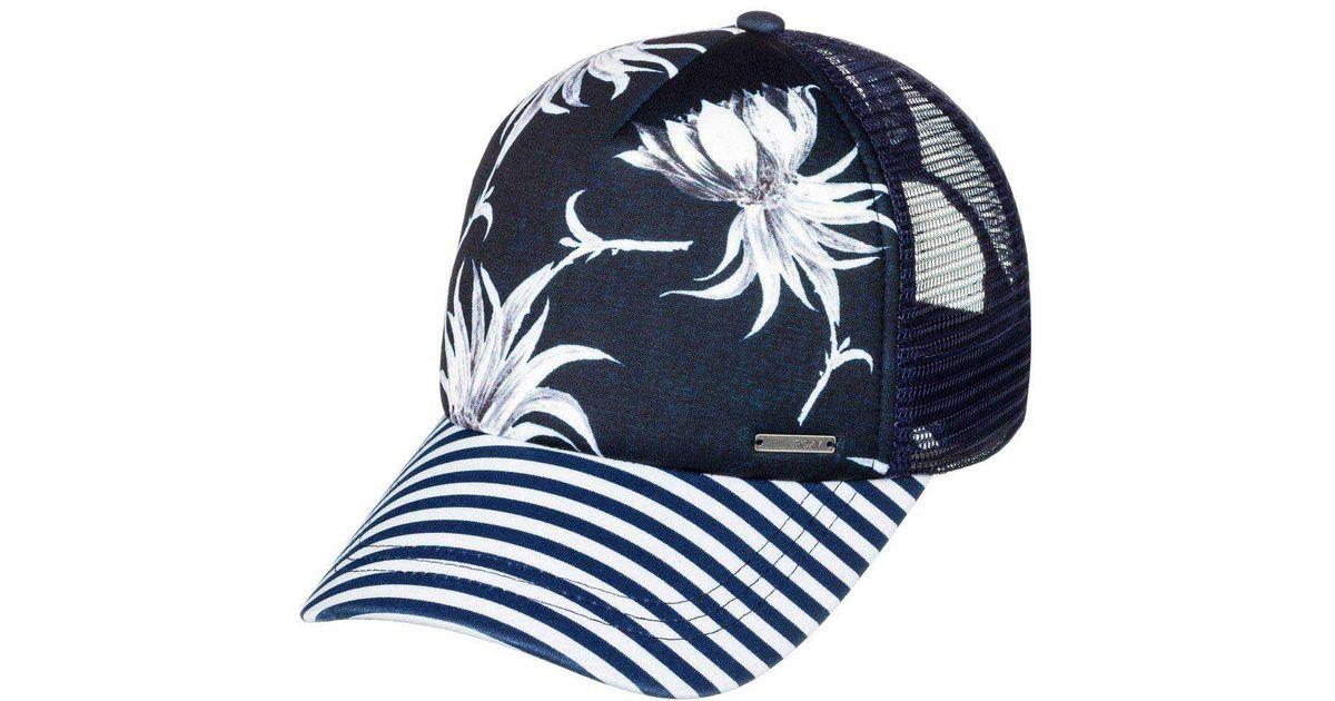 Lyst - Roxy Water Come Down Trucker Hat in Blue for Men 313ffc862ddf