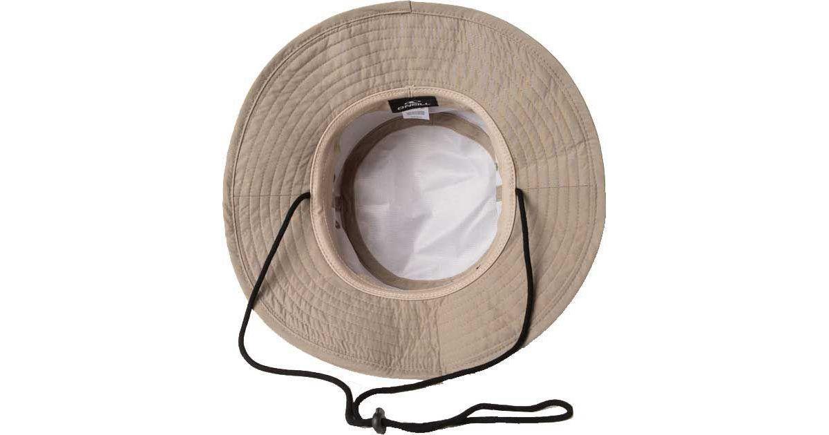 91b1460c31d Lyst - O neill Sportswear Wetlands Bucket Hat in Natural for Men - Save 4%