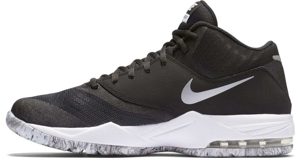 new concept 025ef 5fb63 Nike Air Max Emergent Basketball Shoes in Black for Men - Lyst