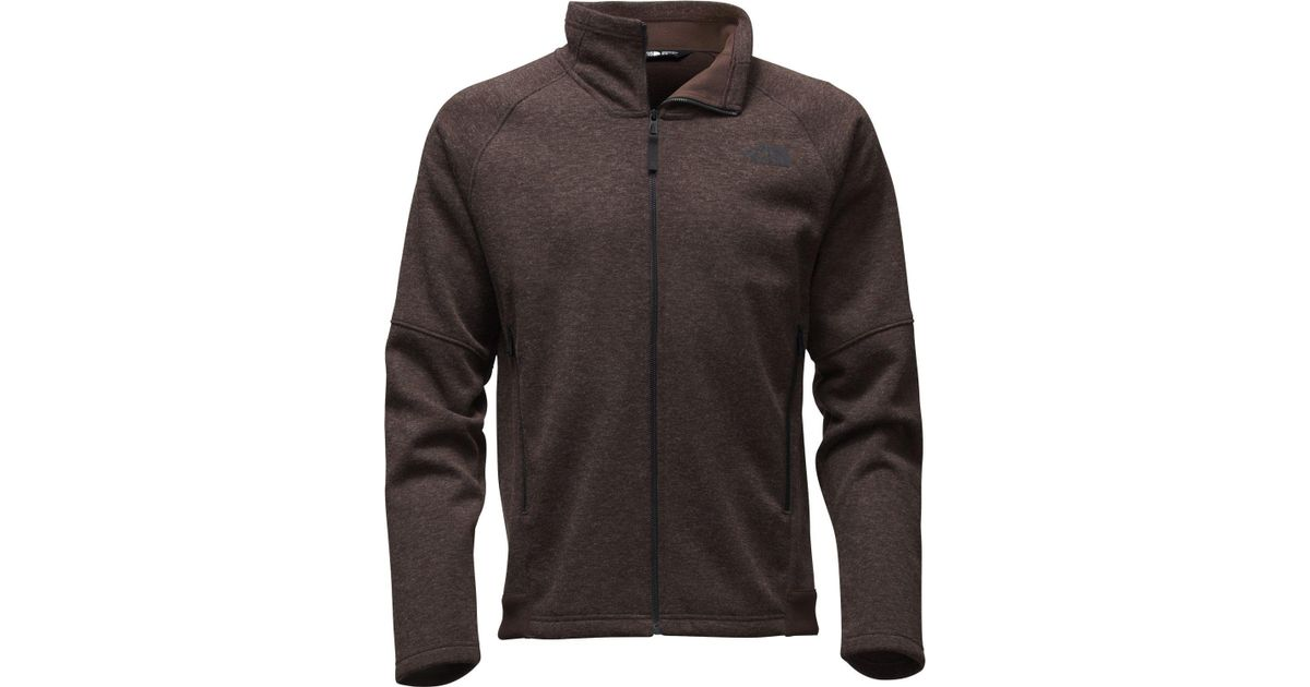 9302bc6854 Lyst - The North Face Far Northern Full Zip Fleece Jacket - Past Season in  Brown for Men