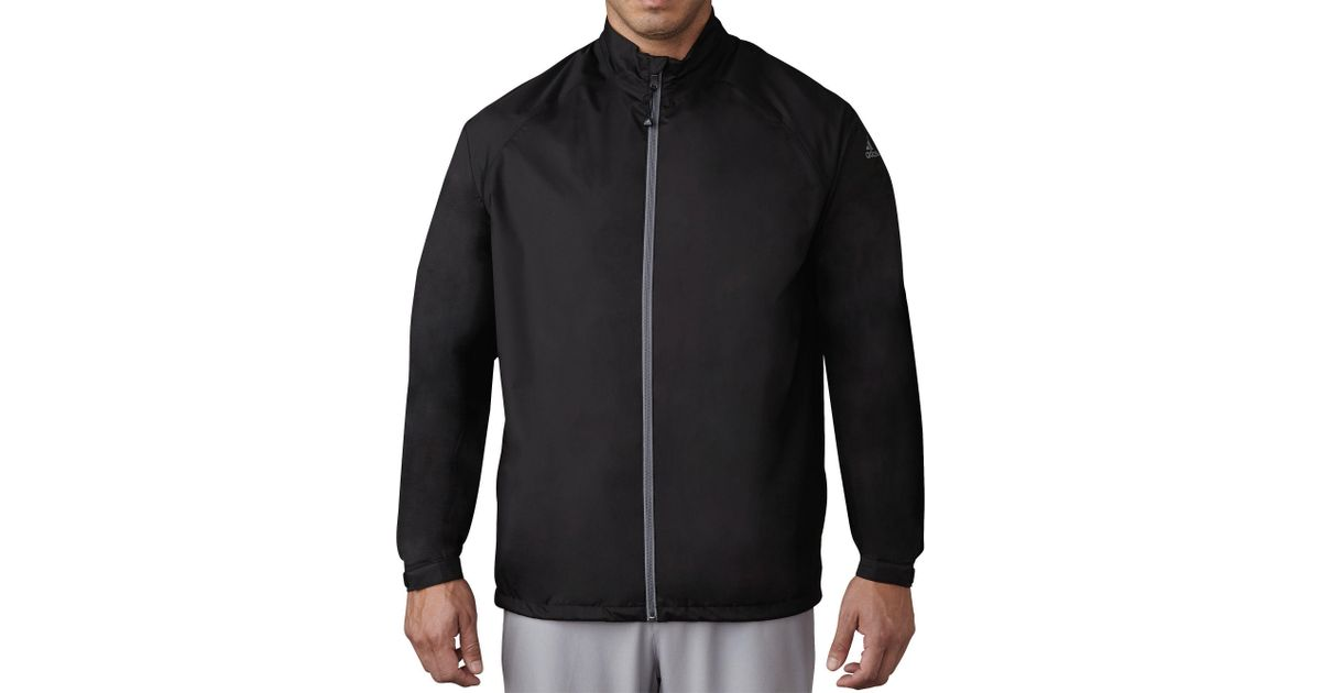 0a6efc8d8 Lyst - adidas Climastorm Provisional Ii Golf Rain Jacket in Black for Men