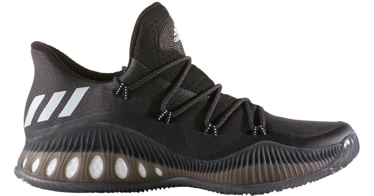 the best attitude 72df4 a2a57 adidas Crazy Explosive Low Basketball Shoes in Black for Men - Lyst