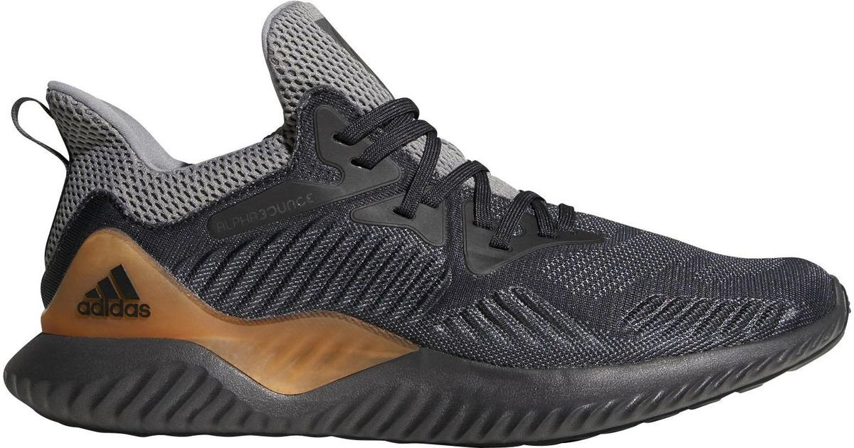 info for bf4f2 604f6 Lyst - adidas Alphabounce Beyond Running Shoes in Black for