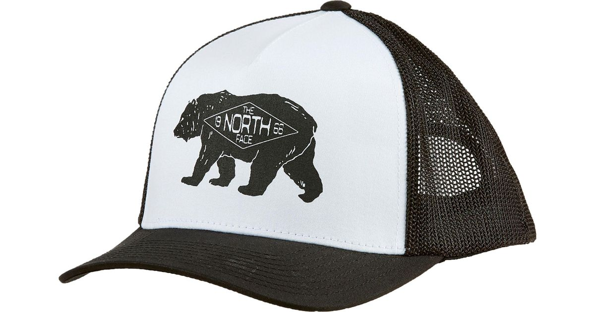 Lyst - The North Face Keep It Structured Trucker Hat in Black for Men 4f38a14017d