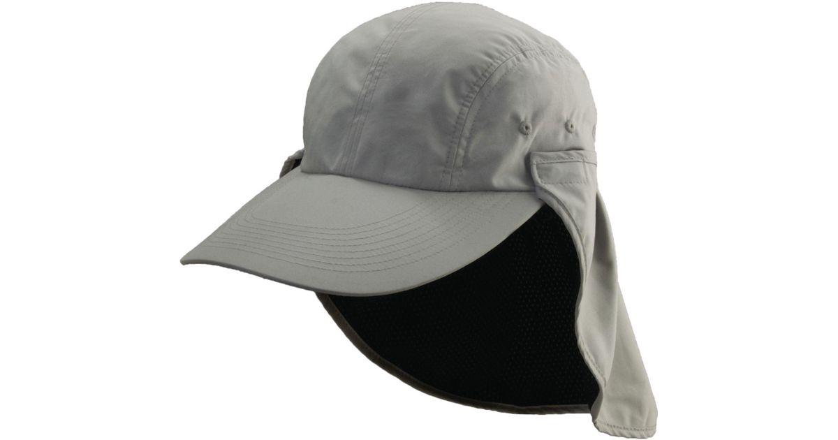Lyst - Dorfman Pacific Long Bill Fishing Hat in Gray for Men 76e732311e9