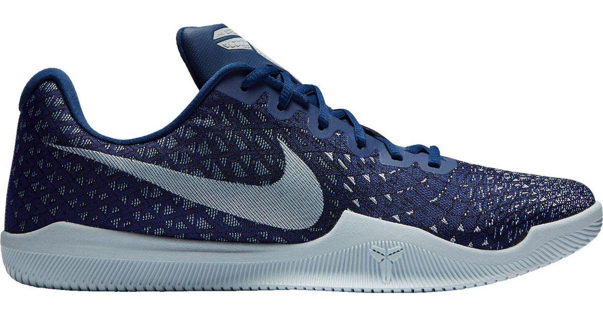 1d1f96ad9088 Nike Kobe Mamba Instinct Basketball Shoes in Blue for Men - Lyst