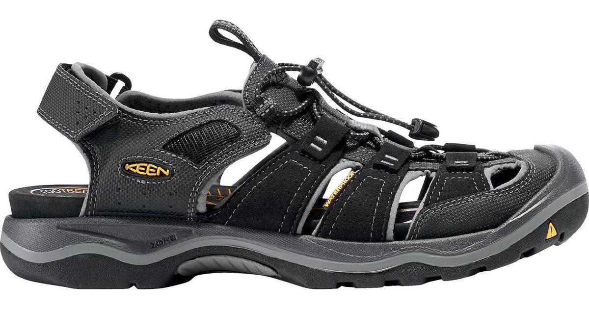 bd46329f56ff Lyst - Keen Rialto H2 Sandals in Black for Men