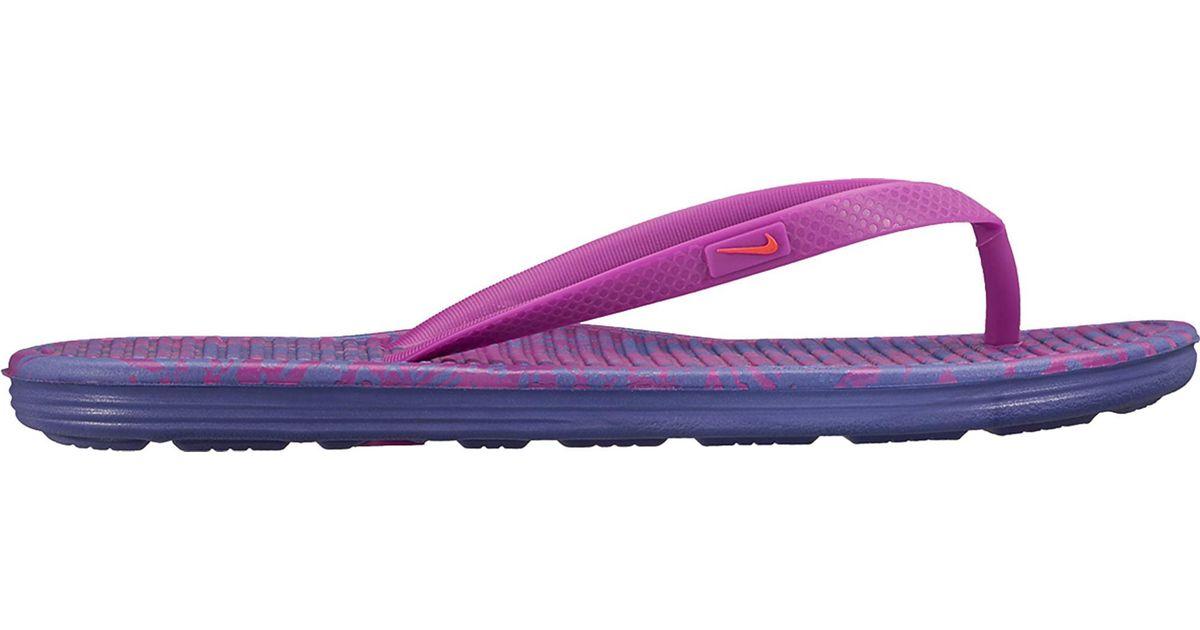 91f033b5160 Lyst - Nike Solarsoft Ii Flip Flops