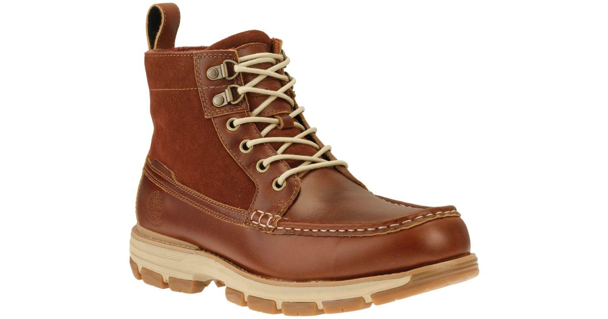 a1039ad5e983 Lyst - Timberland Heston Mid Gore-tex Hiking Boots in Brown for Men
