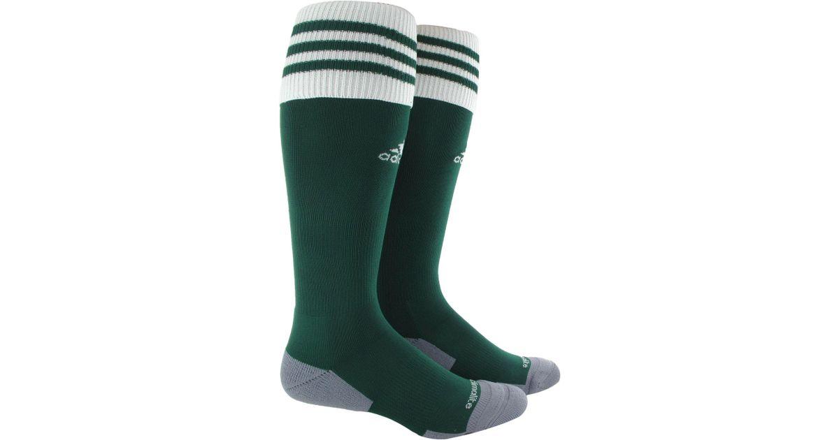 fbd70b6aeb90 Lyst - adidas Copa Zone Cushion Ii Soccer Socks in Green for Men