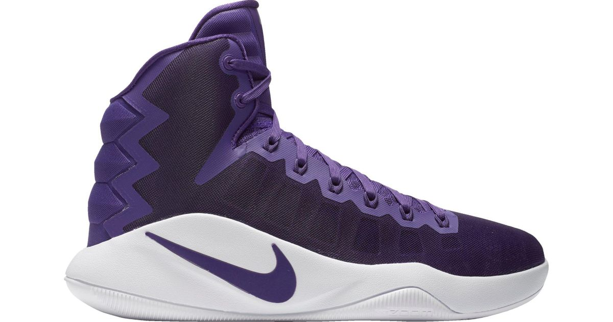 promo code bb148 31ea6 ... promo code for lyst nike hyperdunk 2016 basketball shoes in purple for  men 8c860 27b1d